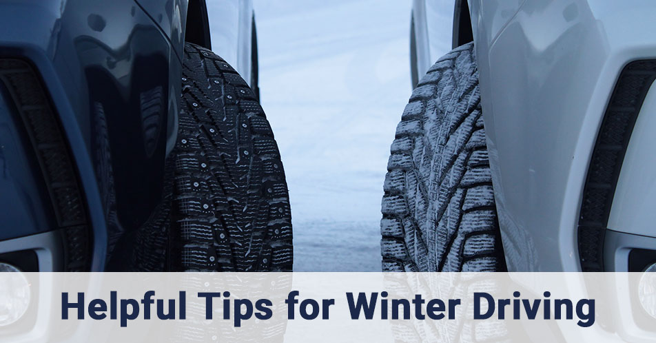Helpful Tips for Winter Driving
